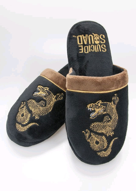 Suicide Squad - Killer Croc Mule Slippers Size 5-7-Groovy