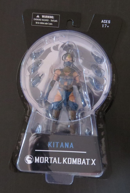 "Mortal Kombat X - Kitana 6"" Action Figure-Brand New"