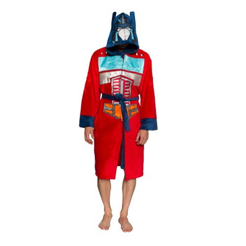 Transformers Optimus Prime Hooded Adjustable Bath Robe-Brand New