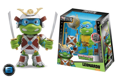 "Teenage Mutant Ninja Turtles - Leonardo with Armor 6"" Metals Wave 1"