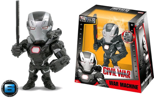 "Captain America 3: Civil War - War Machine 6"" Metals Wave 2"