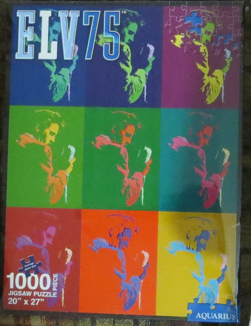 ELVIS PRESLEY-75th Anniversary-Licensed 1000 Piece Jigsaw Puzzle-Brand New