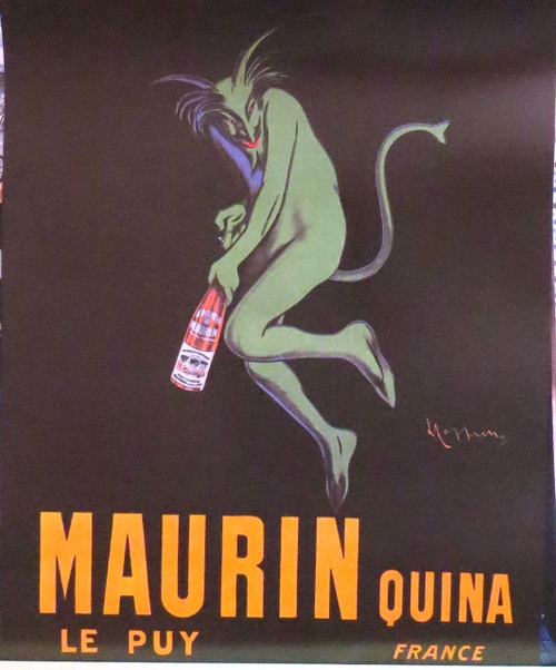 CAPPIELLO MAURIN QUINA LE PUY-French Advertising- Poster-Laminated available-50cm x 40cm-Brand New