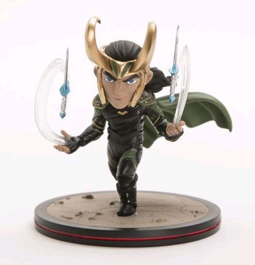 Thor 3: Ragnarok - Loki Q-Fig Diorama-QMXMVL-0022