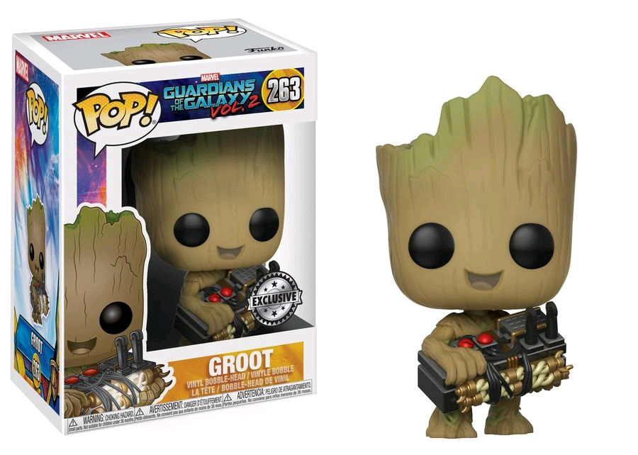 Guardians of the Galaxy  Vol. 2 - Groot with Bomb US Exclusive Pop! Vinyl   RS -FUN21828 33ac0e5c9a7