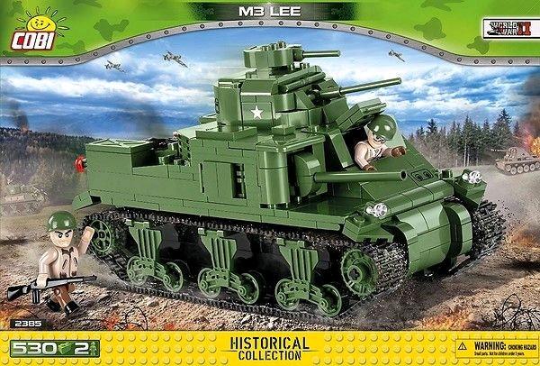 World War II - 420 piece M3 Lee-COB2385