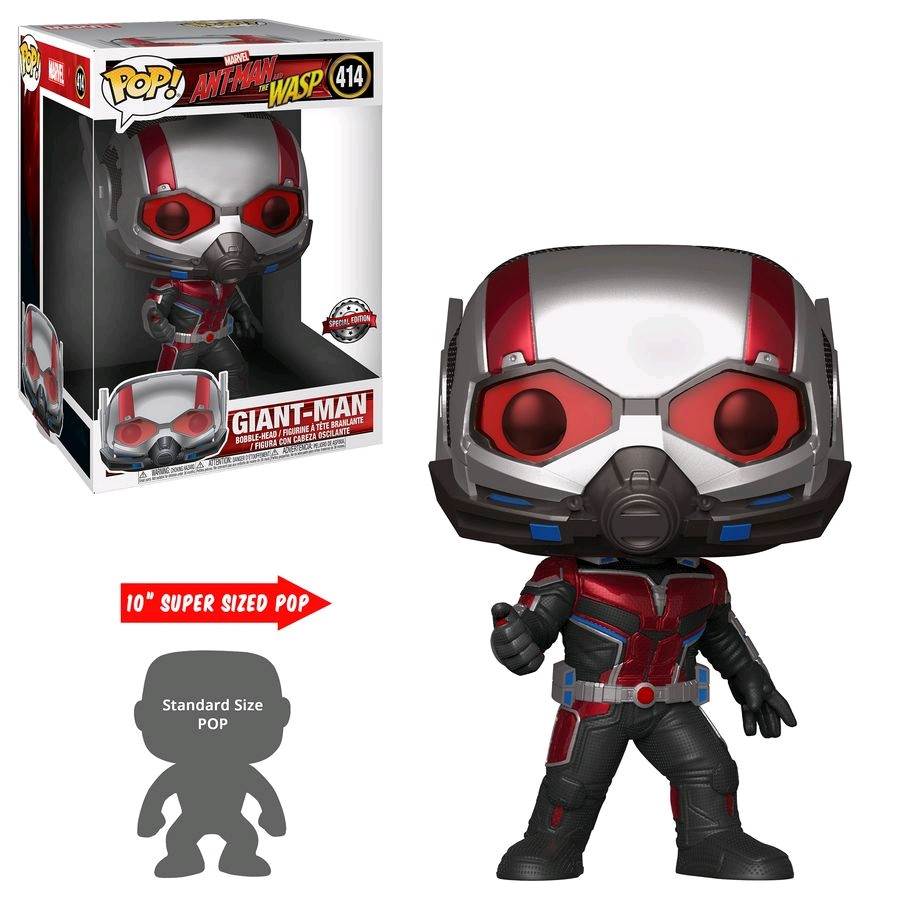 Ant-Man and the Wasp - Giant Man 10  US Exclusive Pop  Vinyl [RS]-FUN36981
