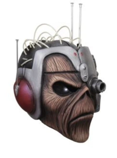 Iron Maiden Somewhere in Time Eddie Adult Latex Costume Mask