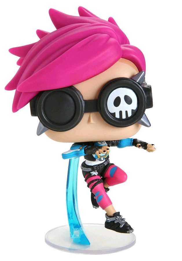 Details about Overwatch - Tracer Punk Skin US Exclusive Pop! Vinyl  [RS]-FUN38149