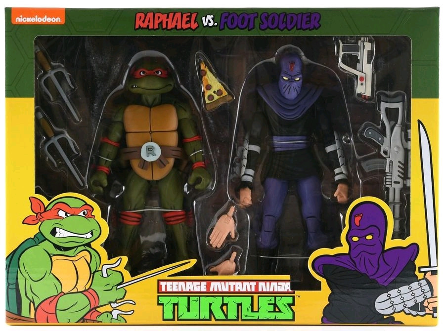 Raphael vs Foot Soldier Action Figure 2-pack-N... Teenage Mutant Ninja Turtles