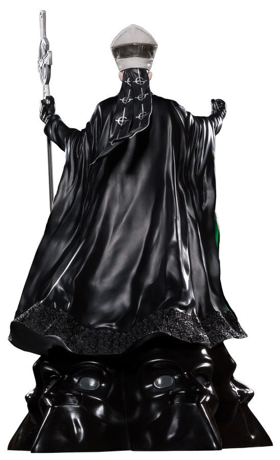 Limited Edition Ikon Collectables Fr Ghost Papa Emeritus II 1:6 Scale Statue