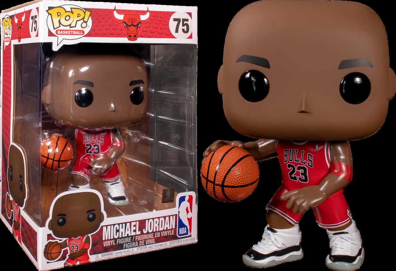 Figurine Funko Pop! N°75 NBA : Bulls Michael Jordan (red
