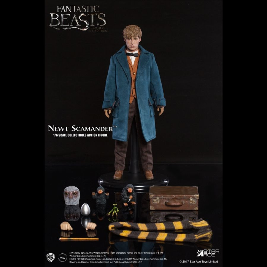 Toy Replicas--Fantastic Beasts and Where to Find Them Newt Scamander Wand