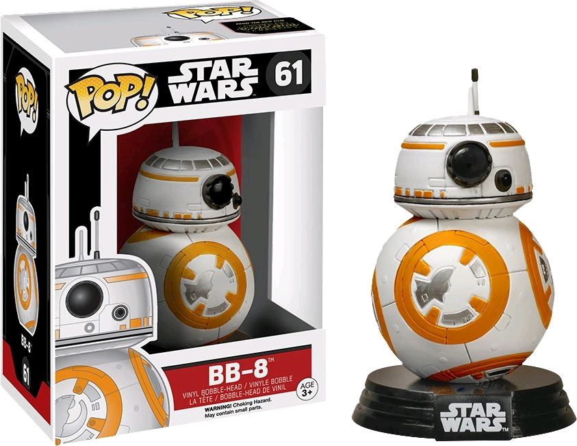 Star Wars Episode 7 Bb8 Roller Droid Pop Vinyl Bobble Figure One Size