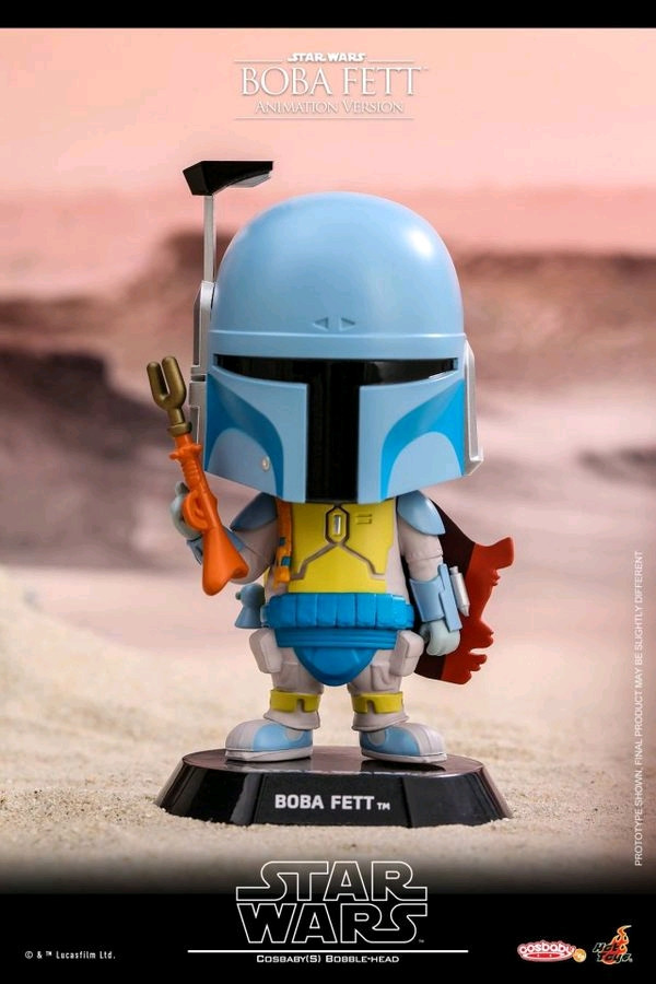 Star Wars Boba Fett Animated Cosbaby-HOTCOSB388