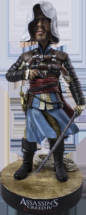 Assassin/'s Creed Ezio Black Suit Bobble Head-IKO0630
