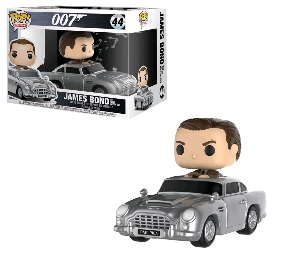 James Bond Sean Connery With Aston Martin Db5 Pop Ride Fun24820 Ebay