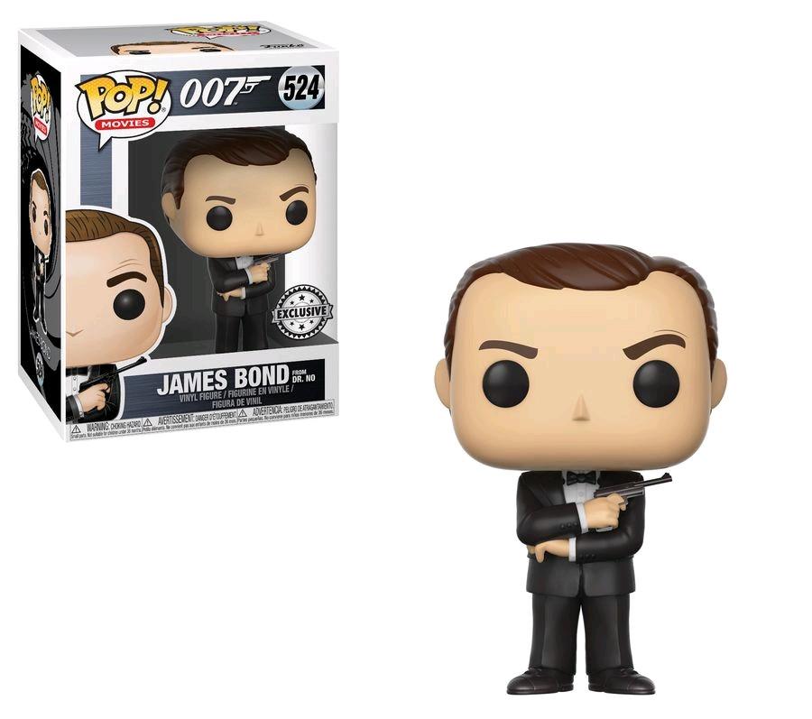 Details About James Bond Sean Connery Black Tux Us Exclusive Pop Vinyl Rs Fun24704