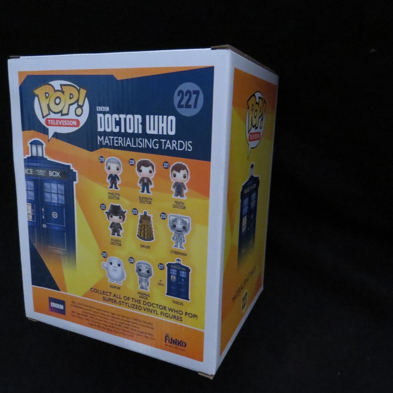 "Materializing TARDIS 6/"" Pop Vinyl-Brand New-FUN7025 Doctor Who"