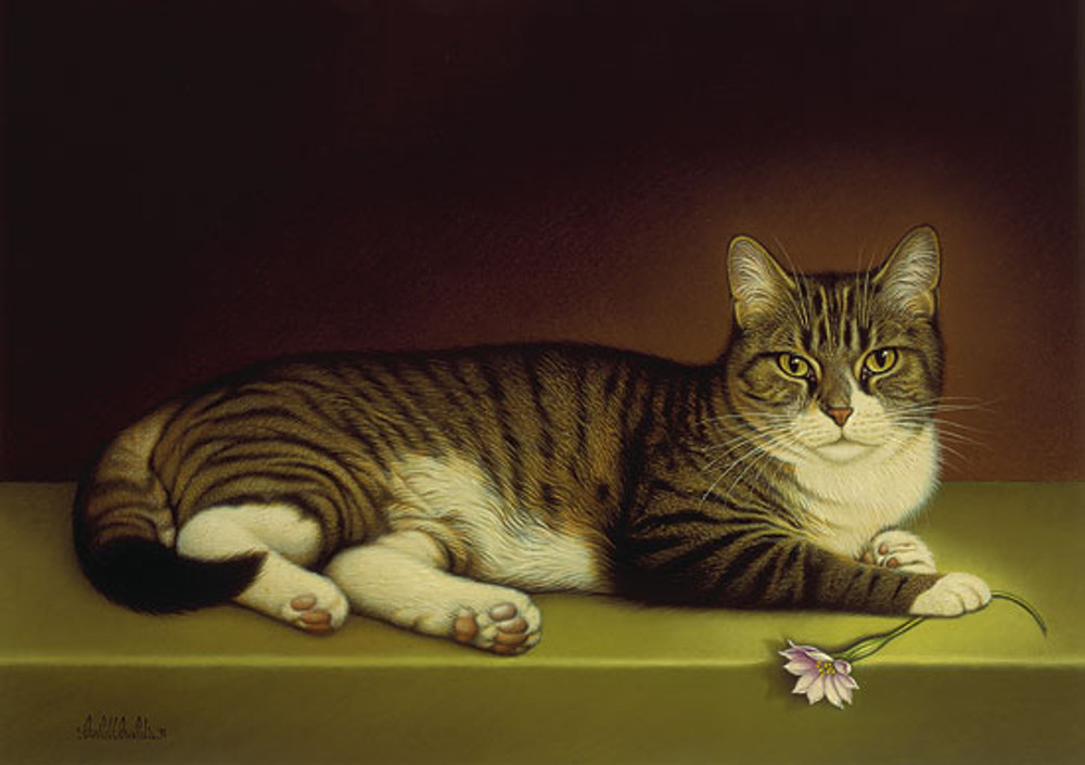 MISS KITTY, by Braldt Bralds LIMITED EDITION PRINT
