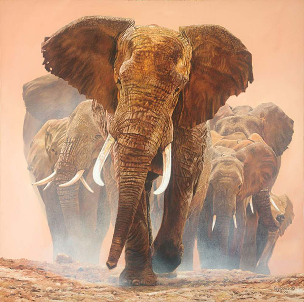 Big Daddy, by Guy Combes LIMITED EDITION CANVAS