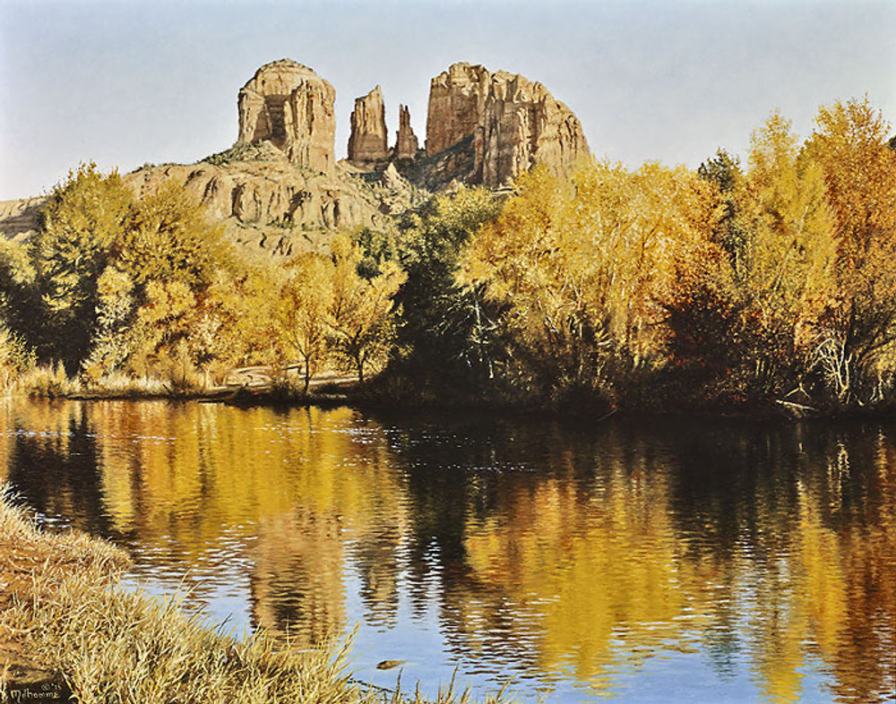 Autumn Glory, by Denis Milhomme SMALLWORK CANVAS EDITION