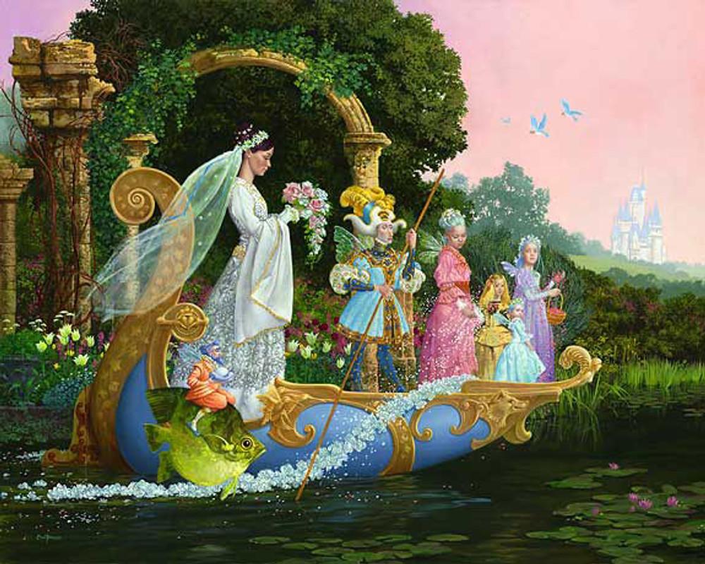 The Bride by James C. Christensen