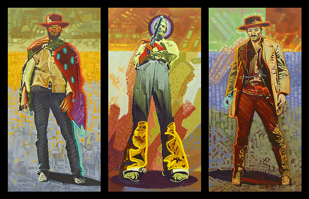 Neon Gunslingers by Michael Blessing
