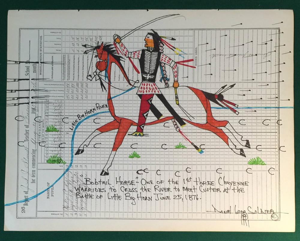 Bobtail Horse Cheyenne Warrior