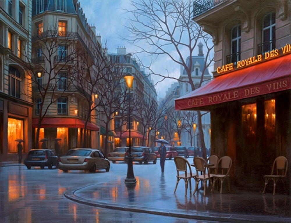 CAFE ROYALE DES VINS - Paris by Alexei Butirskiy