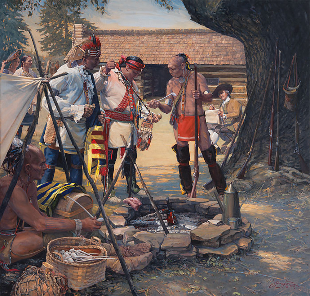 The Ceremonial Pipe by John Buxton