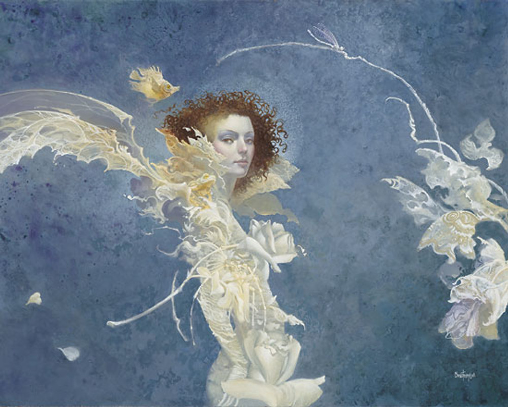 Fiona by James Christensen LIMITED EDITION CANVAS