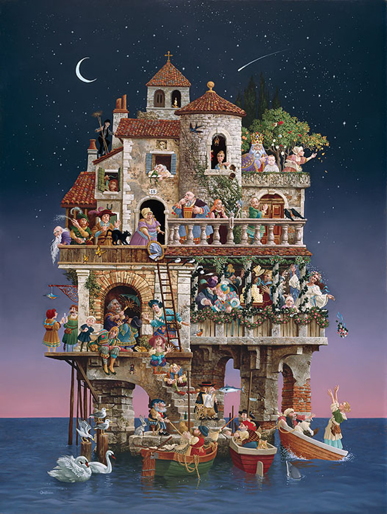 Superstitions by James Christensen - Masterwork Canvas