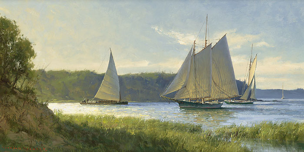 Working the River by Don Demers