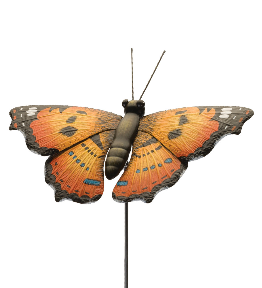 """Metal Butterfly Stake -46"""""""