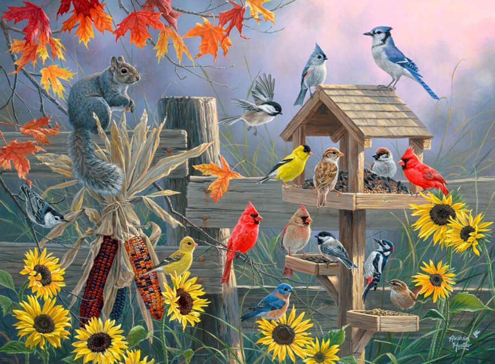 Autumn Gathering - Abraham Hunter