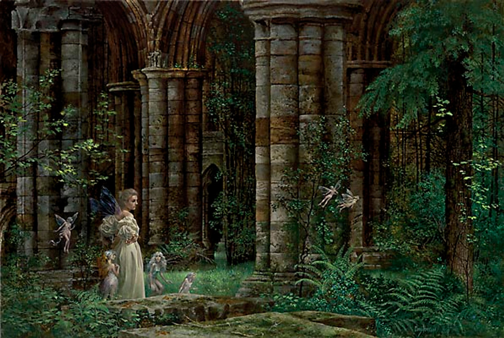 QUEEN MAB IN THE RUINS, James Christensen LIMITED EDITION PRINT