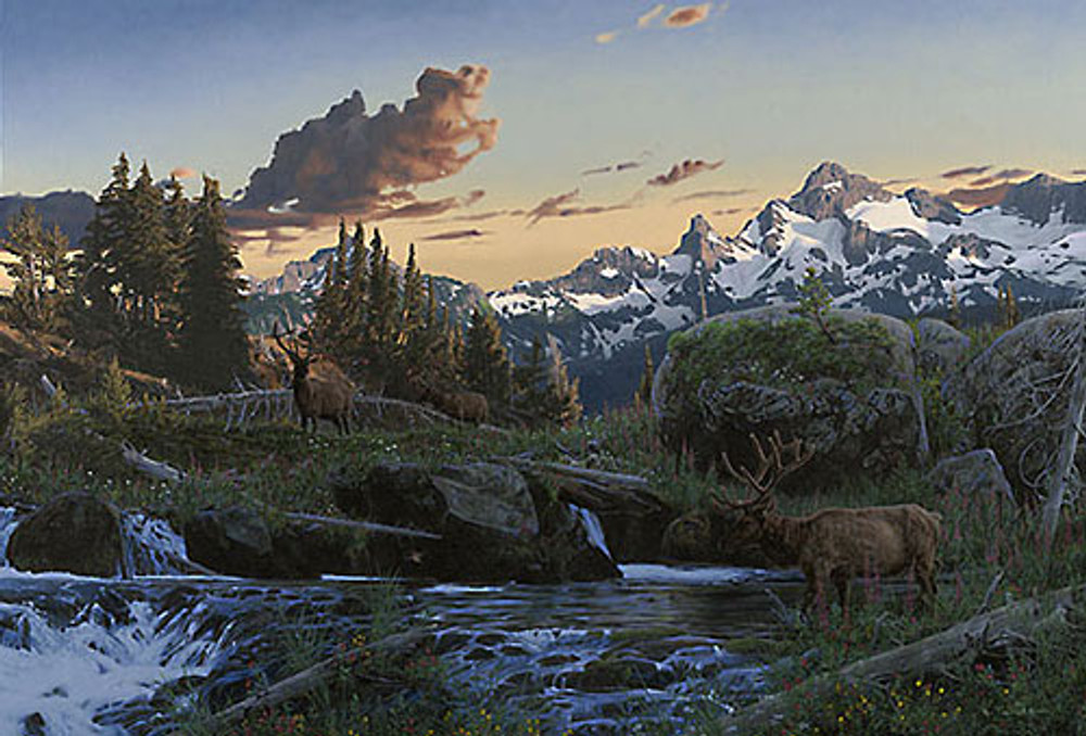 EVENING MAJESTY, Rod Frederick   LIMITED EDITION PRINT