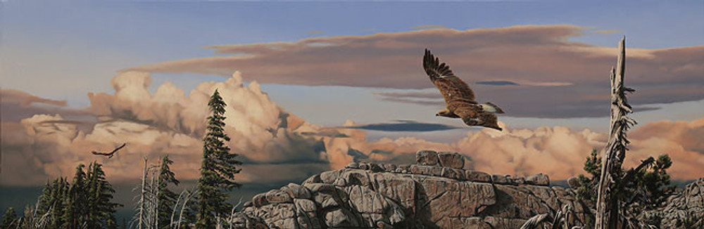 Wind Riders, Rod Frederick   LIMITED EDITION CANVAS