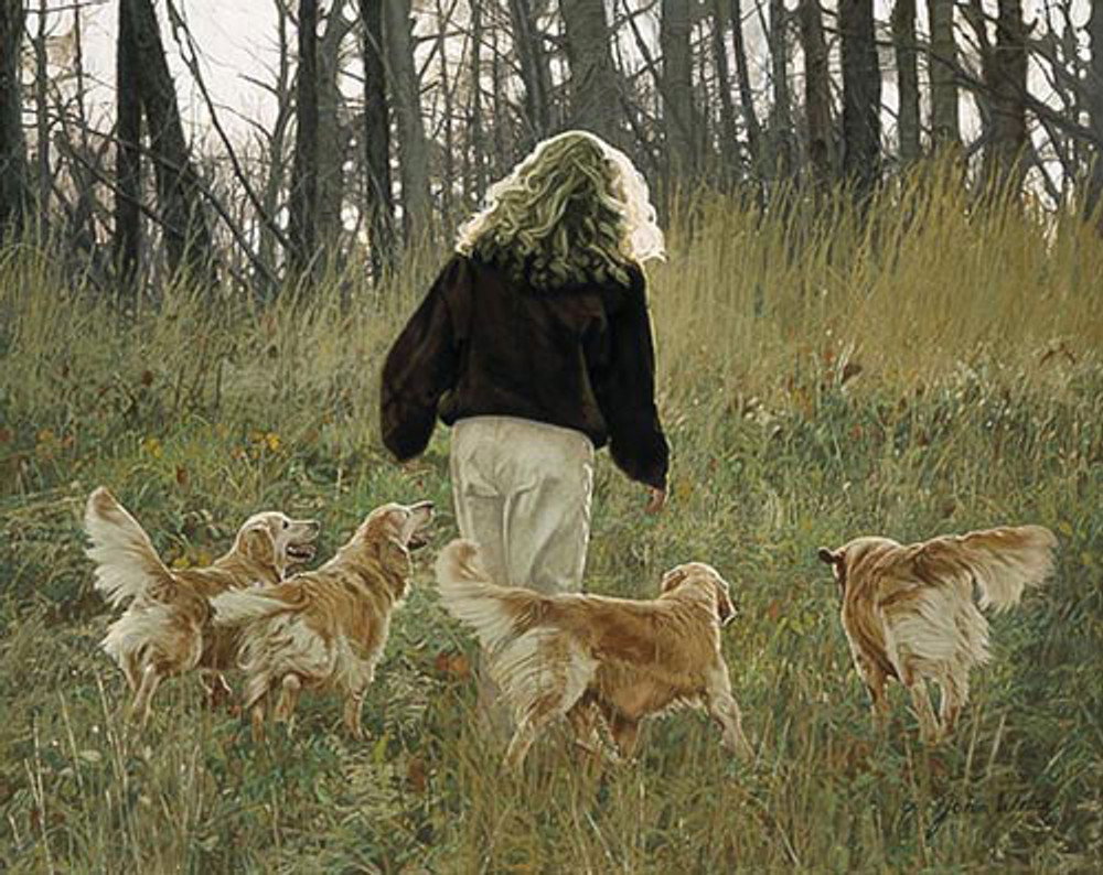 GOLDEN MOMENTS, John Weiss LIMITED EDITION PRINT