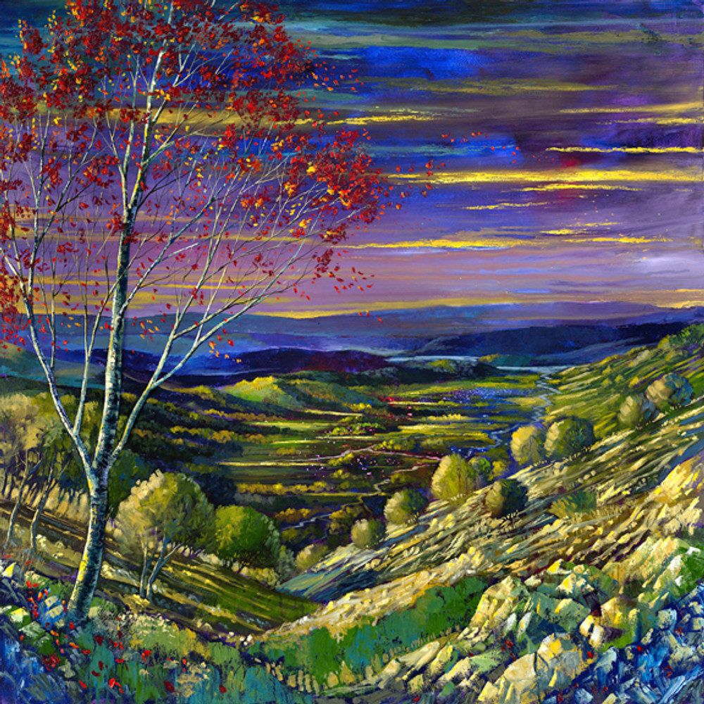 Someday Soon by Ford Smith contemporary landscape artist from Atlanta, GA
