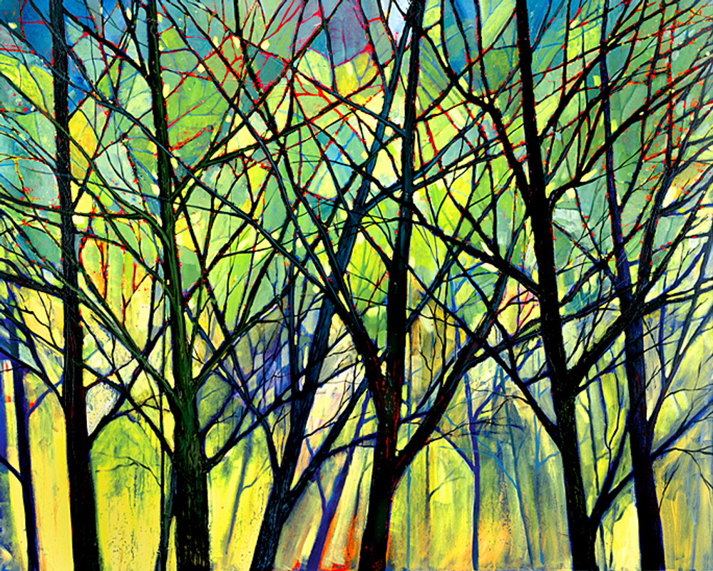 Branching Out by Ford Smith contemporary landscape artist