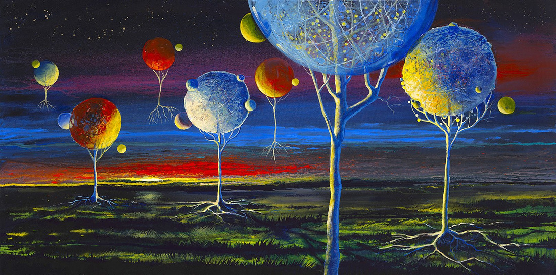 Galileo's Playground by Ford Smith giclée canvas limited edition