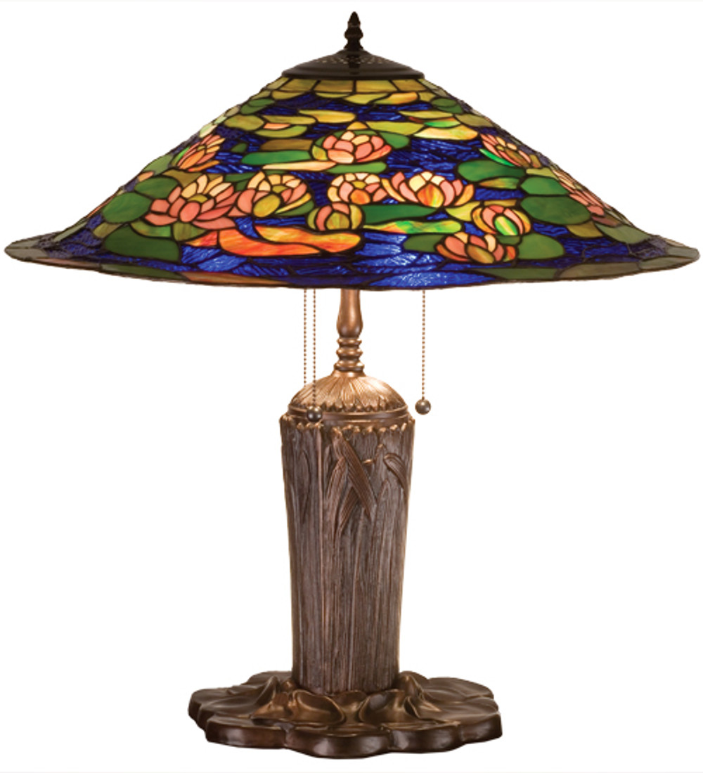 Lily Pond style lamp