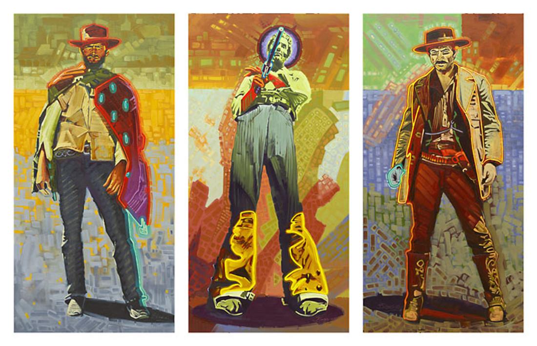 Neon Gunslingers 3 piece set