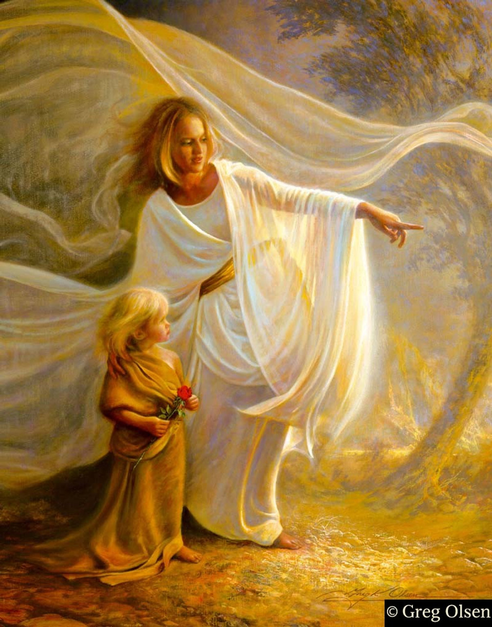 Heavenly Hands by Greg Olsen limited edition print