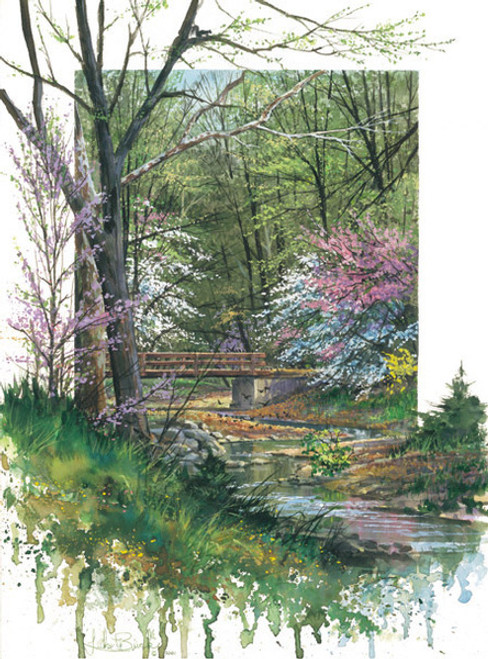 Spring Bridge, by Luke Buck