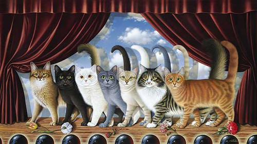 A CHORUS LINE, by Braldt Bralds LIMITED EDITION PRINT