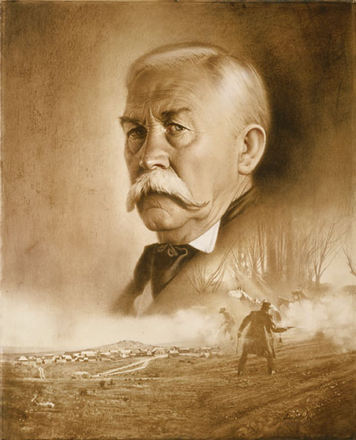 Virgil Earp: Day of Decision, by Don Crowley LIMITED EDITION CANVAS