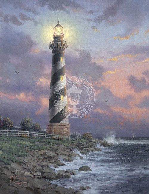 Cape Hatteras Light, Thomas Kinkade, 24 x 18 canvas